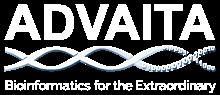 AdvaitaBio Bioinformatics Logo: Bioinformatics for the Extraordinary